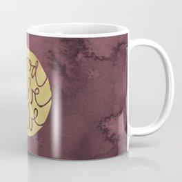 Good Vibe Tribe gold red watercolor Coffee Mug