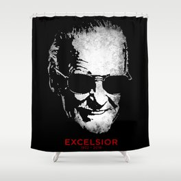 Excelsior! Shower Curtain