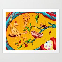 HEALSGEBEDDA Art Print