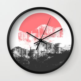 A new morning's sun Wall Clock