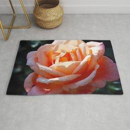 Peach Rose Rug