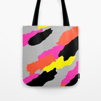 mars Tote Bags featuring Mars by Tyler Spangler
