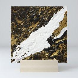 """""""Liquid Gold Night"""" from """"7 Days in Japan"""" Mini Art Print"""
