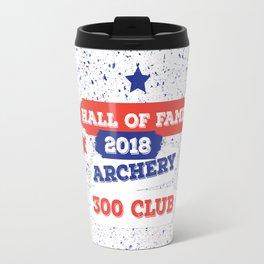 ARCHERY HALL OF FAME 300 CLUB 2018 Travel Mug