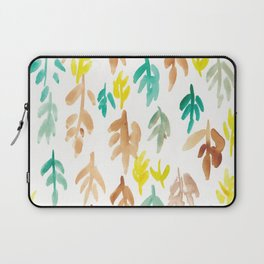 180726 Abstract Leaves Botanical 21|Botanical Illustrations Laptop Sleeve