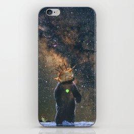 Space /Bear /Milkyway iPhone Skin
