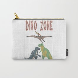 Dino Zone, dinosaurs world, prehistoric Carry-All Pouch