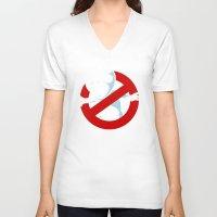 kodama V-neck T-shirts featuring Kodama Busters by adho1982