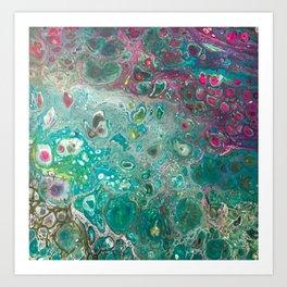 Underwater Garden Art Print
