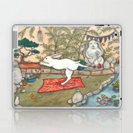 Yoga Bunny Laptop & iPad Skin