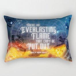 Zodiac - Everlasting Flame Rectangular Pillow