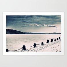 Stillwater Art Print