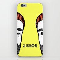 zissou iPhone & iPod Skins featuring Zissou #2 by Daniel Feldt