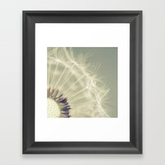 When it rains Framed Art Print
