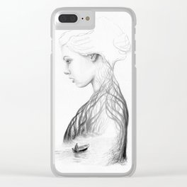 Onward and Inward Clear iPhone Case
