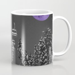 Chair Lift to the Purple Moon Coffee Mug