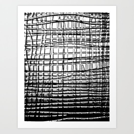 Shower Screen Art Print