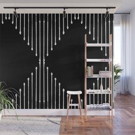 Geo / Black Wall Mural