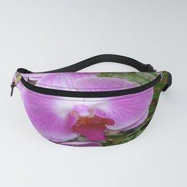 Purple Orchids Fanny Pack
