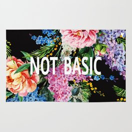 Not basic Rug