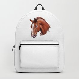 Horse Portrait Backpack