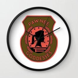 pawnee Wall Clock