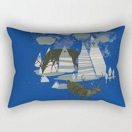 magic mountains Rectangular Pillow