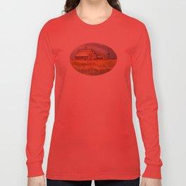 Barns and Windmill Long Sleeve T-shirt