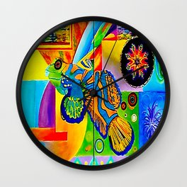 Vincent Green Mandarin Gobi Wall Clock