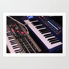 Syntheseizers (Free Music danalog1.bandcamp.com) Art Print