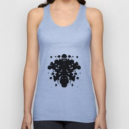 Ink Blot Unisex Tank Top
