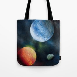 Celestial Triad Tote Bag