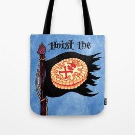 Hoist the Jolly Roger Jammie Dodger Tote Bag