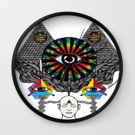 MY THIRD EYE Wall Clock