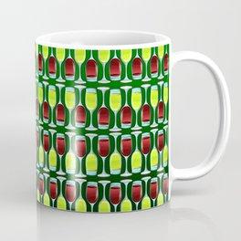Wine Glasses Of Red And White Coffee Mug