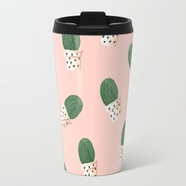 Cacti Pattern Travel Mug