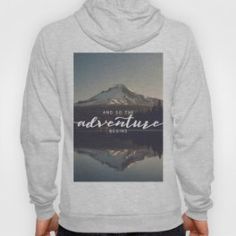 Trillium Adventure Begins - Nature Photography Hoody