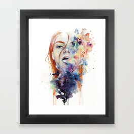 this thing called art is really dangerous Framed Art Print