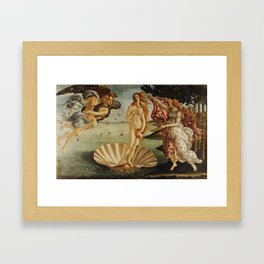The Birth of Venus by Sandro Botticelli Framed Art Print