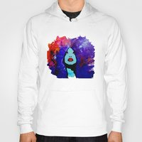 afro Hoodies featuring afro color by WITH MY HANDS
