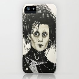 Edward Scissorhands iPhone Case