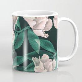 Blooming pink large flowers Coffee Mug
