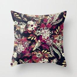 Space Garden II Throw Pillow