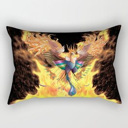 Flames of Life Rectangular Pillow