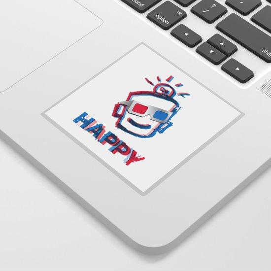 3D HAPPY by leonardporkchopzimmerman