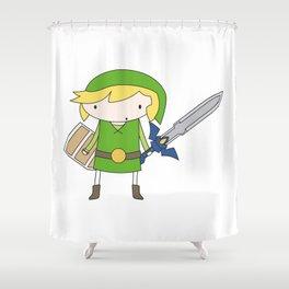 Link - Wind Waker Shower Curtain