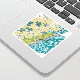 Beehive Island Sticker