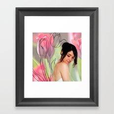 Flower Fairy III Framed Art Print