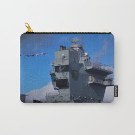 HMS Prince of Wales Aft Island Carry-All Pouch