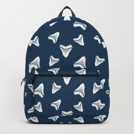 Sharks Tooth Pattern Backpack